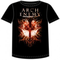 ARCH ENEMY - TWIN SKULLS DATES MENS TEE