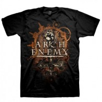 ARCH ENEMY - INVERTED CROSS-DATES MENS TEE
