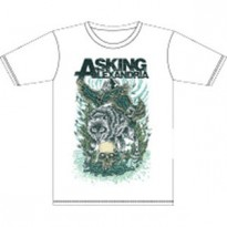 ASKING ALEXANDRIA - WINTER WOLF MENS SLIM TEE