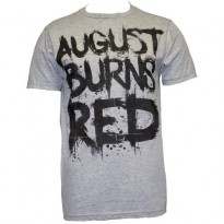 AUGUST BURNS RED - BIG TEXT