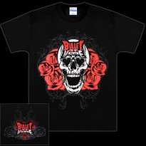 BULLET FOR MY VALENTINE - SKULL BLOOM MENS TEE