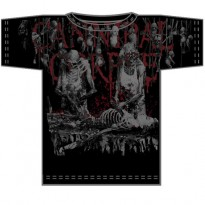 CANNIBAL CORPSE - BUTCHERED AT BIRTH ALLOVER MENS TEE