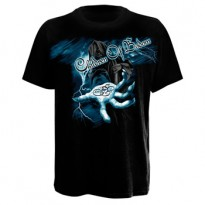 CHILDREN OF BODOM - REAPER LIGHTNING HAND MENS TEE
