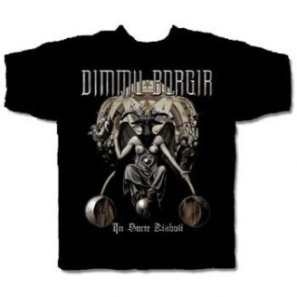 DIMMU BORGIR - IN SORTE DIABOLI MENS TEE