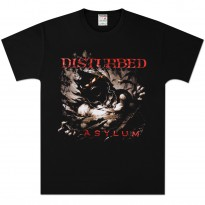 DISTURBED - GLOOMY NIGHT MENS TEE