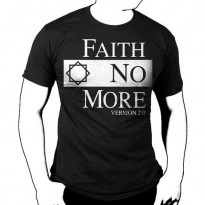 FAITH NO MORE - CLASSIC LOGO V2 MENS TEE