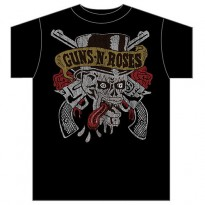 GUNS N ROSES - TONGUE SKULL MENS TEE