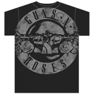 GUNS N ROSES - COLOR BULLET MENS TEE