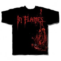 IN FLAMES - SPLATTERED PHOENIX MENS TEE