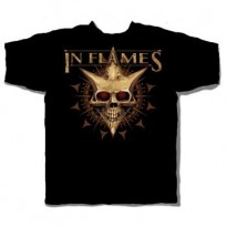 IN FLAMES - JESTERHEAD SKULL MENS TEE