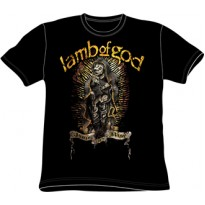 LAMB OF GOD - AGAIN WE RISE MENS TEE
