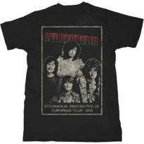 LED ZEPPELIN - STOCKHOLM MENS SLIM FIT TEE