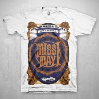 MISS MAY I - METAL CREST MENS TEE