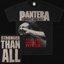 PANTERA - VULGAR DISPLAY OF POWER MENS TEE