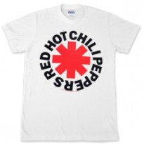RED HOT CHILI PEPPERS - ASTERISK LOGO MENS TEE
