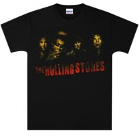 ROLLING STONES - SMOKE BAND MENS TEE