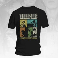 ROLLING STONES - 19TH NERVOUS BREAKDOWN MENS TEE