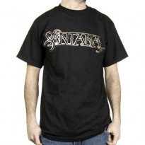 SANTANA - COPPER FOIL LOGO MENS TEE