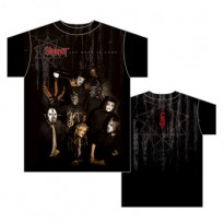 SLIPKNOT - JUMBO SEPIA ALL OVER MENS TEE