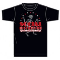 SOCIAL DISORDER - SKELLY STAR ARCH MENS TEE