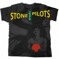 STONE TEMPLE PILOTS - RED CORE MENS TEE
